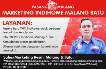 marketing indihome malang batu terpercaya