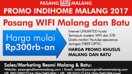 Harga Pasang WIFI Malang Batu